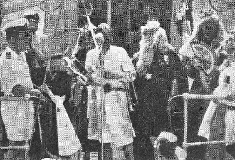 Linjepassagen den 9 december 1953